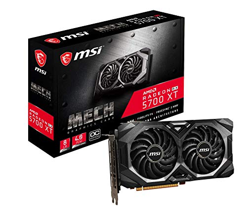 MSI Radeon RX 5700 XT MECH OC Grafikkarte
