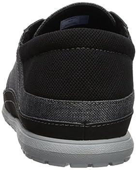 Crocs Men's Santa Cruz Playa Lace M Sneaker, Slate Greylight Grey, 10 M Us 1