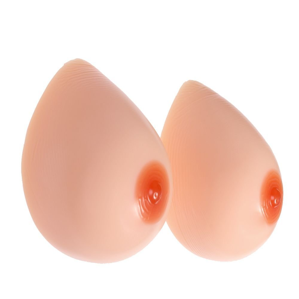 MaxTara Silicone Breast Full Forms Fake boobs for Mastectomy TV TG G Cup 2000g