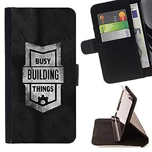 Dragon Case- Caja de la carpeta del caso en folio de cuero del tir¨®n de la cubierta protectora Shell FOR Samsung Galaxy S3 MINI I8190- Funny
