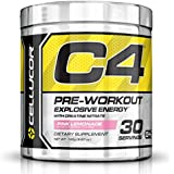 Cellucor C4 Pre Workout Supplements with Creatine, Nitric Oxide, Beta Alanine and Energy, 30 Servings, Pink Lemonade
