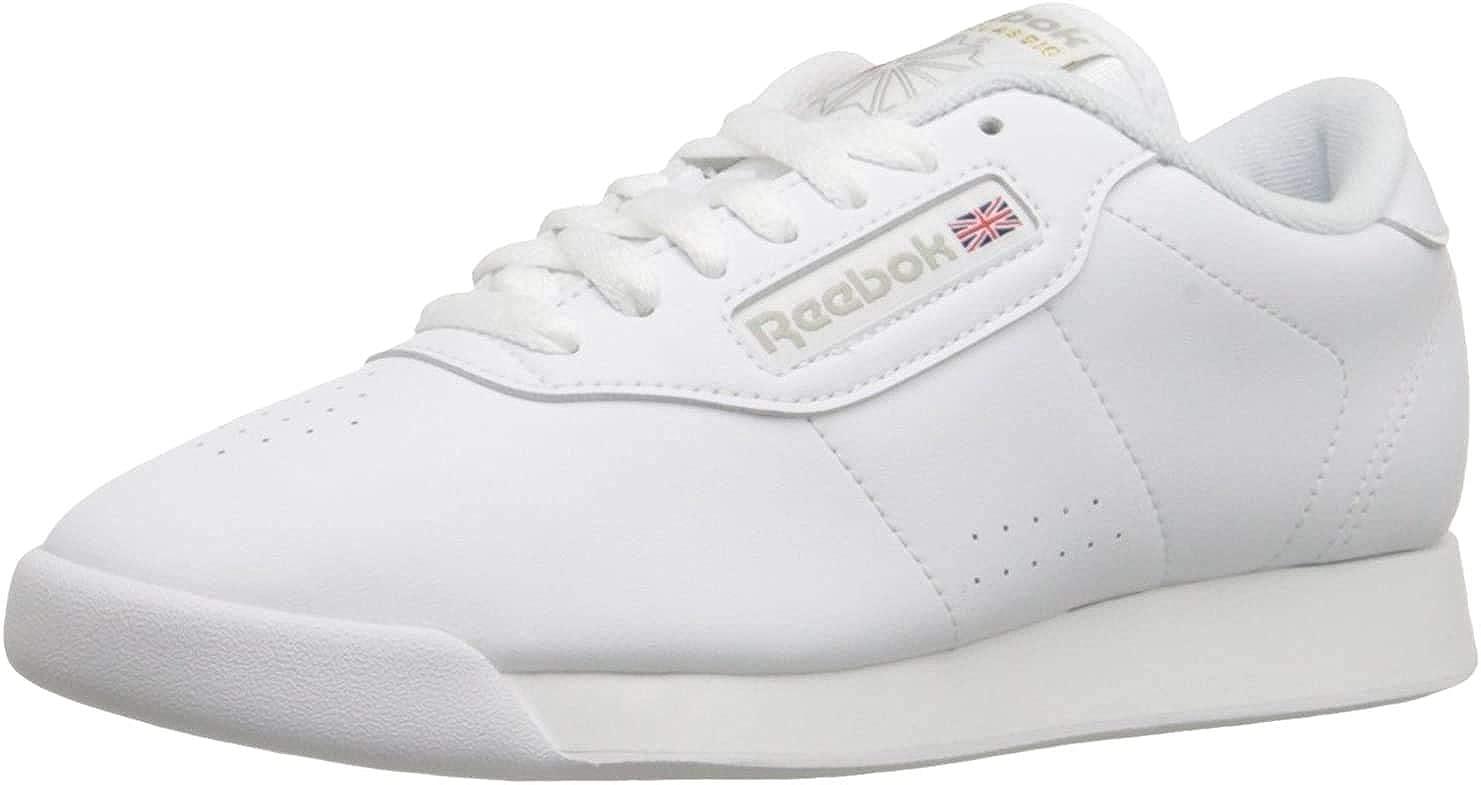 Reebok Princess, Chaussures de Gymnastique Femme Blanc Int White