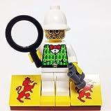 "MinifigurePacks: Lego Adventurers - Orient Expedition Bundle ""(1) DR. KILROY"" ""(1) FIGURE DISPLAY BASE"" ""(2) FIGURE ACCESSORIES"""