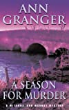Front cover for the book A Season for Murder by Ann Granger