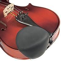 Strad Pad Black Chinrest Pad: Tamaño estándar