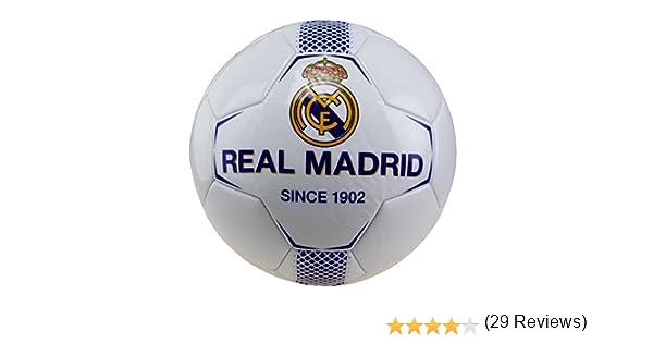 Real Madrid rm7gb1 de balón de fútbol de Mixta Infantil, Color ...