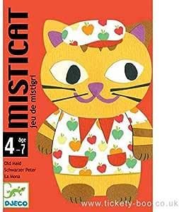 Djeco- Juegos de cartasJuegos de cartasDJECOCartas Misticat, Multicolor (36): Amazon.es: Juguetes y juegos