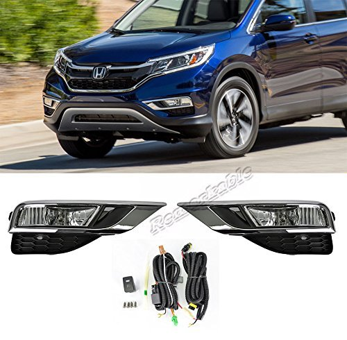 Style Fog Lights Kit - Remarkable Power FL7028 - 2015-16 Honda CR-V OE Style Clear Fog Light Kit