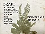 #5: Skullcap, Scutellaria lateriflora, Extract (20:1) (Sticky Powder) Organic ~ Sacred Herbs and Spices from Schmerbals Herbals