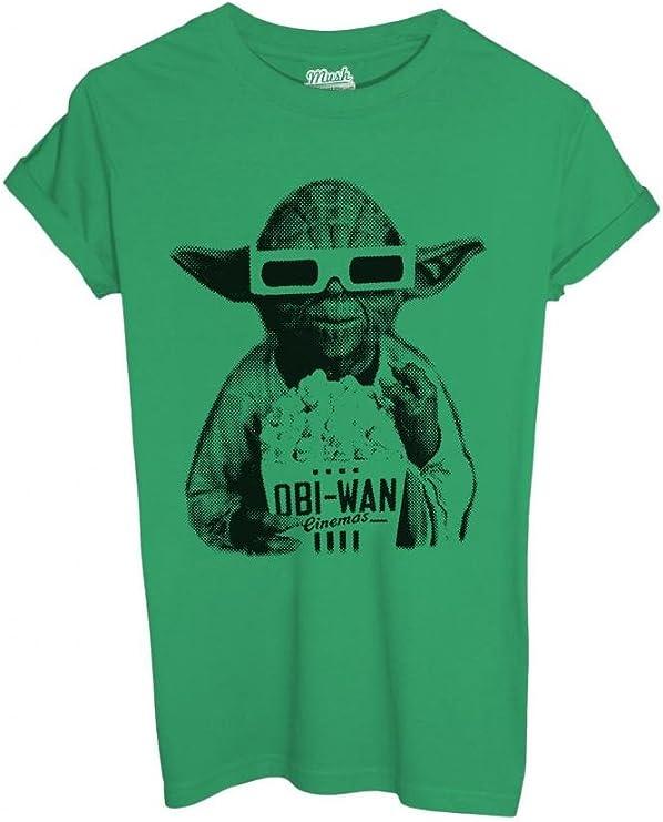 Camiseta Yoda 3d cine – Film By Mush Dress Your Style Kiwi Hombre-XL: Amazon.es: Ropa y accesorios
