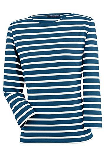 Saint James Galathée - Streifenshirt - Bretagne-Shirts Marine/Neige