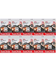 SanDisk 16GB Ultra (10 Pack) Class 10 80MBps SDHC UHS-I Memory Card SDSDUNC-016G-GN6IN