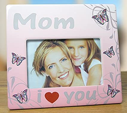 Amazoncom Mom Frame I Love You Mom Butterfly Themed Frame