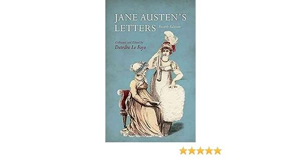 Jane Austens Letters By: Jane Austen published: December ...
