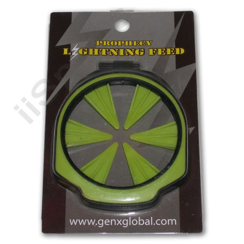 GXG Lightning Empire Prophecy Z2 Loader Hopper Speed Feed Feedgate Collar Lid LIME GREEN by GxG