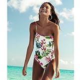Billabong Women's Island Hop One Piece Swimsuit, Seashell, M