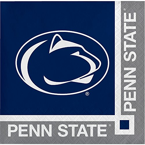 - 20-Count Paper Beverage Napkins, Penn State Nittany Lions