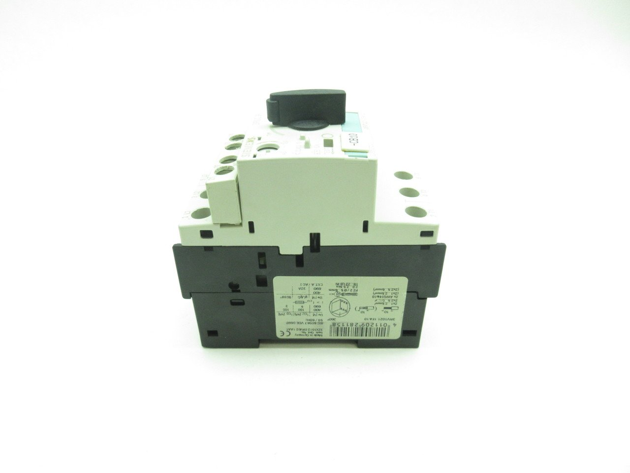 SIEMENS 3RV1021-1FA10 MANUAL MOTOR STARTER NEW OTHER 3.5-5 AMPS.