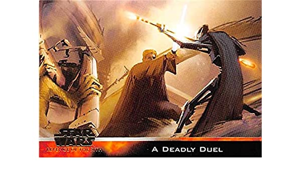 Duel Of Fates Concept Art Trading Card Star Wars Revenge Of The Sith Topps 2005 84 At Amazon S Entertainment Collectibles Store