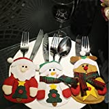 3 Pieces Santa/Snowman/wapiti