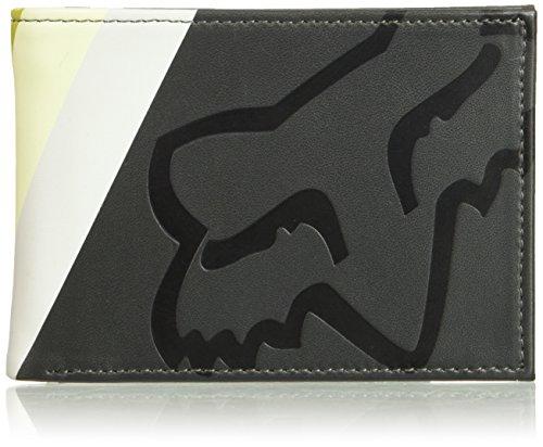 Fox Men's Draftr Pinned Pu Wallet, black, One Size by Fox