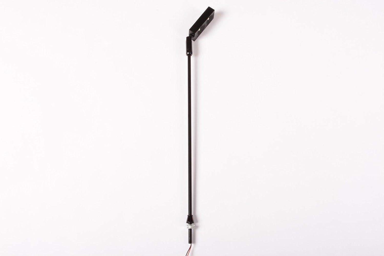 Aftertech LED-Strahler auf Stab, 2 x 1 W, kaltweiß, drehbar, Schwarz GIOIELLERIA D6D6