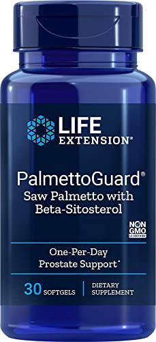 Life Extension PalmettoGuard Saw Palmetto with Beta-Sitosterol, 30 softgels