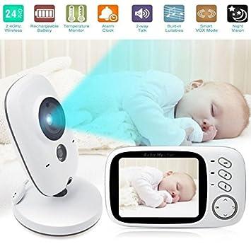 Amazon.com: Nuevo inalámbrico Digital Baby Monitor, Welink ...