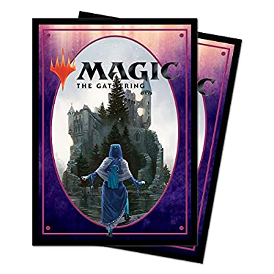 Magic: The Gathering Throne of Eldraine - Castle Deck Protector Sleeves (100 ct.): Toys & Games