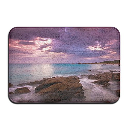 DDIAN Beach Australia Meelup Beach Landscape Non Slip Mat, Kitchen, Toilet, Laundry, Bedroom Or Pet Mat. (Outdoor Australia Vinyl Flooring)
