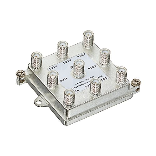 Leviton 47690-G8 1 X 8 (8-Way) 2Ghz Passive Video Splitter by Leviton