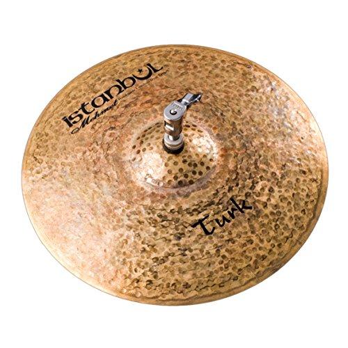 Istanbul Mehmet Cymbals Custom Series HHMT15 15-Inch Turk Medium Hi-Hat Cymbals ()