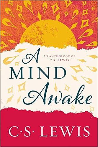 Book A Mind Awake: An Anthology of C. S. Lewis