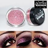 GlitterWarehouse Glitter for Eyeshadow / Eye Shadow Shimmer Makeup Powder Champagne Pink