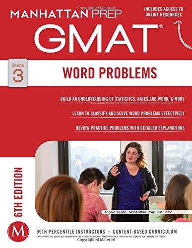 GMAT Word Problems (Manhattan Prep GMAT Strategy Guides)