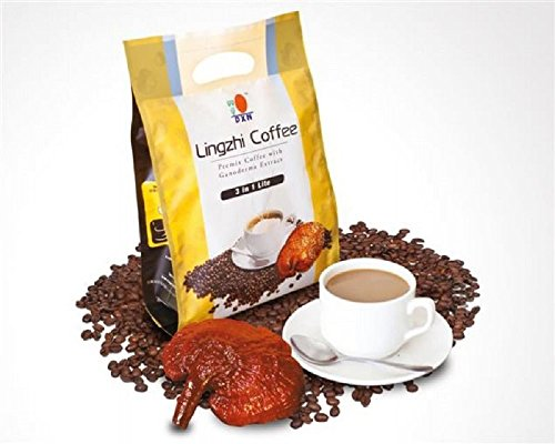 30 Packs DXN Lingzhi 3 in 1 Lite with Ganoderma Healthy Coffee ( Total : 600 Sachets x 21g ) by DXN