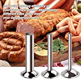 Sausage Stuffer Tubes,Dveda Stainless Steel Meat