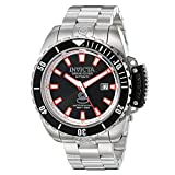 Invicta Men's 'Pro Diver' Stainless Steel Automatic Watch, Color:Silver-Toned (Model: 21785)