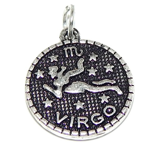 Chinese Zodiac Virgo - Pro Jewelry Virgo Astrology or Zodiac Sign Bead Compatible with European Snake Chain Bracelets