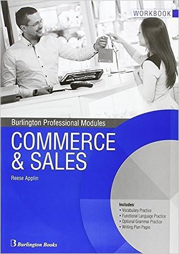 COMMERCE & SALES WB 16 BURIN52CF: Amazon.es: Vv.Aa, Vv.Aa: Libros