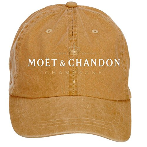 nusajj-moet-chandon-champagne-adult-unstructured-100-cotton-baseball-caps-design-brown-one-size