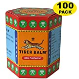 WHOLESALE Tiger Balm Red Extra strength Herbal Rub Muscles Headache Pain Relief Ointment Big Jar, 30g (Thailand Edition) 100 Pack