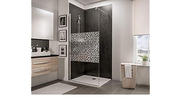 Schulte 4060991014239 mampara de ducha, Décor Canto cromado, 90 x ...