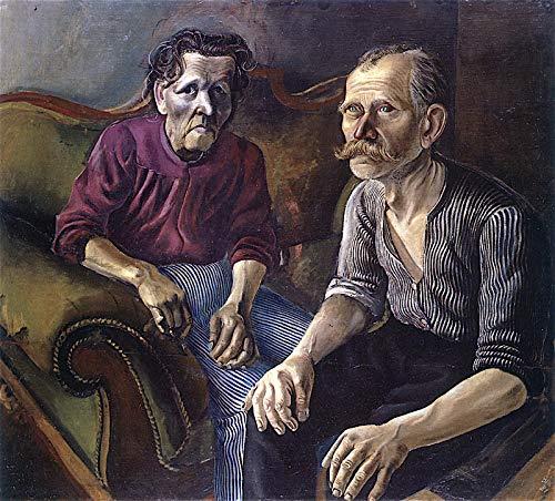 Otto Dix Portrait of The Artist's Parents I 1921 Kunstmuseum Basel 30