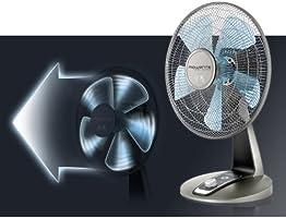 Rowenta VU2531 Turbo Silence - Ventilador oscilante para Mesa (12 ...