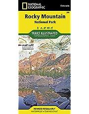 200 Rocky Mountain National Park: Colorado, USA Outdoor Recreation Map