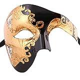 Xvevina Venetian Phantom of The Opera Mask Vintage Look