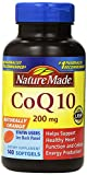 Nature Made CoQ10 Coenzyme Q10 200 mg - 2 Bottles 140 Softgels Each Discount