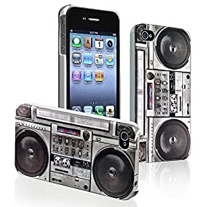 BUS Radio Hard Shell Case for iPhone 4/iPhone 4S by icecream design