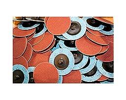 Car Builder Supply 720q50 Sand Loc Quick Change Type R Grinding Sanding Disc 2\